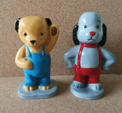 CAMTRAK'S Childhood Favourites By WADE No 5 SOOTY And No 6 SWEEP 1998 • 105£