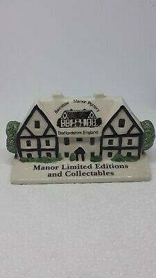 Rare Bairstow Manor Pottery, Manor Limited Editions And Collections House • 12£