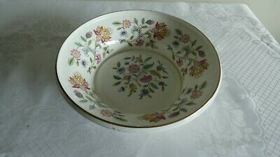 Rare Minton Haddon Hall Gold Deep Bowl - Excellent Codition / 1st Quality • 35£