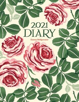 Emma Bridgewater Pink Roses Spiral A5 Diary • 10.95£