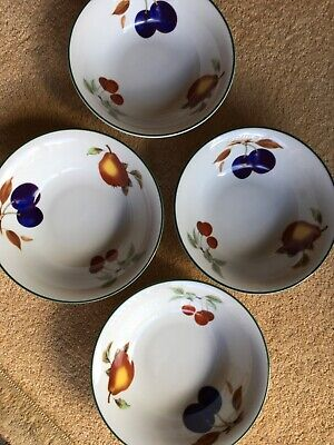 Royal Worcester Evesham Vale Cereal Bowls X4 New Without Tags • 37.99£