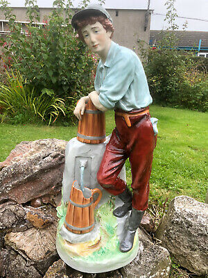 Superb Royal Dux Bohemian Figurine Water Carrier...24 Inches Tall • 195£