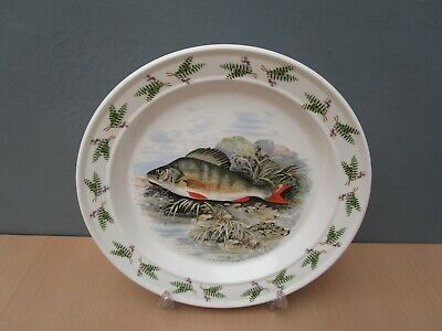 Portmeirion  Compleat Angler - Perch  10 1/2 Inch Dinner Plate • 10£
