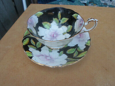 English China Paragon Cabinet Tea Cup And Saucer With Gardenia Flower Design • 78£