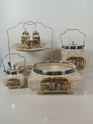 Beautiful Sandland Ware Hanley Staffordshire Table Serving Set • 78£