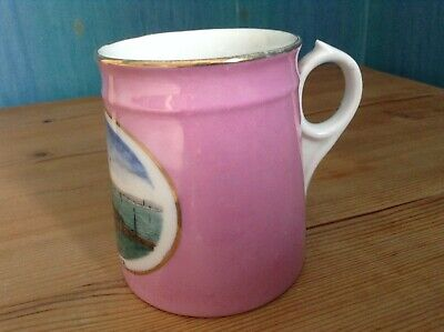 Lovely Vintage Small Jug / Mug With Image Of WEYMOUTH & PIER - Good Condition • 7.50£