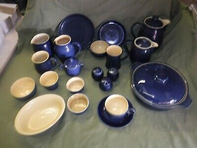 Denby Cottage Blue  Individual Items   • 9£
