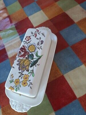 Spode Gainsborough Butter Dish Super Condition • 26.99£