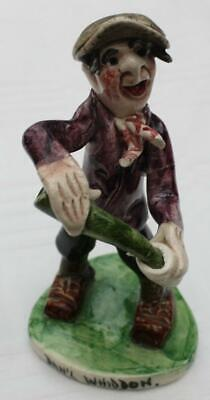 Signed Will Young Devon - Dan'l Whiddon Figurine - A/F • 2.99£