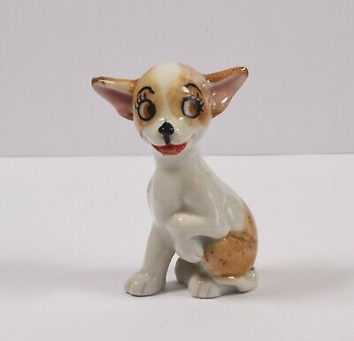 Lovely Vintage Wade TV Pets Figure ~ Pepi ~ Chihuahua Puppy ~ (1959-1965) • 18.99£