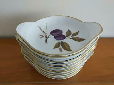 10 Royal Worcester Evesham Oven To Table 7 1/2  Oval Dishes First Quality • 35£