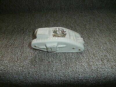 Arcadian Crested China Ww1 Tank  Crest Of Liverpool • 14.99£