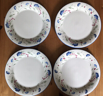 Royal Doulton Expressions Windermere Dinner Plates X 4 • 10.50£
