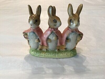 Beatrix Potter Flopsy, Mopsy And Cottontail Beswick F. Warne & Co. 1955 • 18.21£