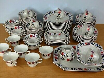 Adams Old Colonial Fine English Ironstone China 92 Pieces Available Individually • 7£