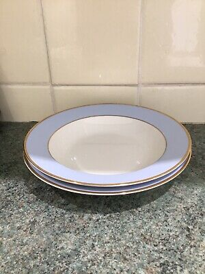 Royal Doulton Daily Mail Pair Of 8.25ins Rimmed Soup Plates Excellent • 7.99£