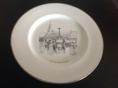 ABINGER FAIR COMMEMORATIVE PLATE - 25th ANNIVERSARY • 9£