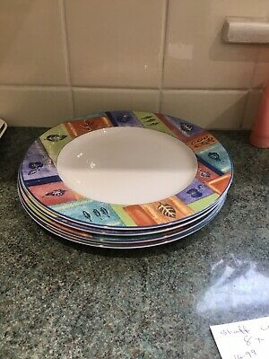 Royal Doulton Trailfinder 11ins Dinner Plates X 4 Great • 26£