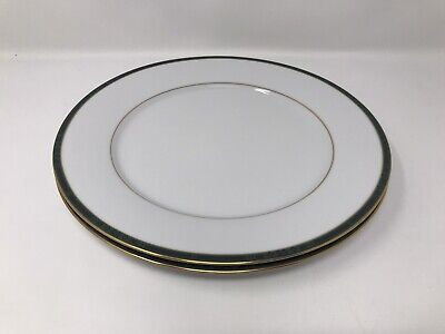 2 X Boots Hanover Green Dinner Plates • 9.99£