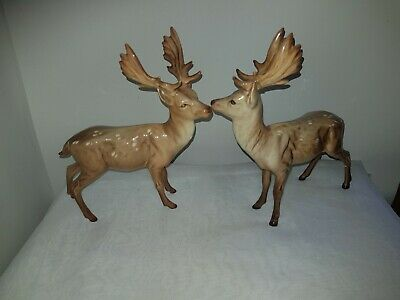 2 X Beswick Stags. Both AF • 6£