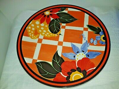 Clarice Cliff Charger. 31cm • 8£