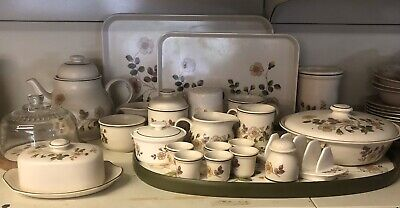 Lot Of Marks And Spencer Autumn Leaves  Tableware Ovenware Details To Follow • 70£