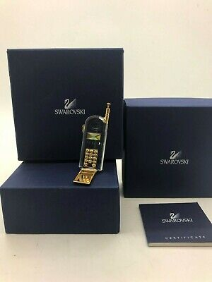 Swarovski Crystal Memories Boxed Mobile Phone (Unwanted Gift Never Used) • 6.99£