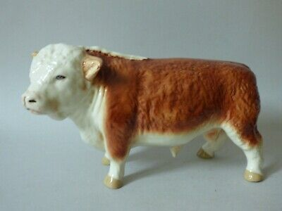 Large Coopercraft Countryside Farm Cattle Hereford Butchers Shop Bull Free Uk Pp • 79.99£