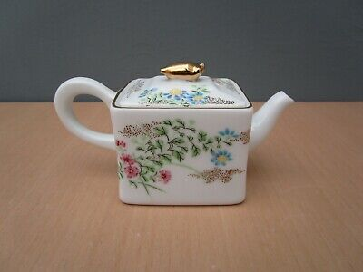 Victoria And Albert Museum Franklin Mint 1985 Miniature Teapot  Kyoto   • 6£