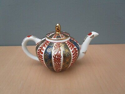 Victoria And Albert Museum Franklin Mint 1985 Miniature Teapot  Meissen   • 8£
