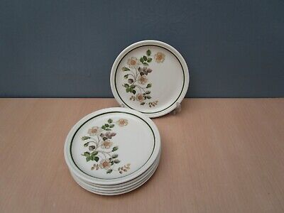 6 Marks And Spencer  Autumn Leaves  6 1/2 Inch Tea Plates • 10£