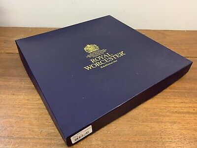 Boxed Royal Worcester Evesham Gold Cake / Pie / Cheese Server Plate Stand • 18£