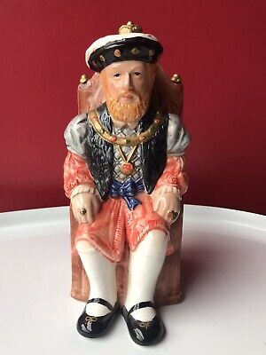 Very Rare King Henry VIII Vintage Pottery Character Jug - Unbranded VGC • 9£