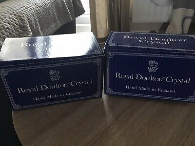 Royal Doulton  Crystal Tumblers • 15£