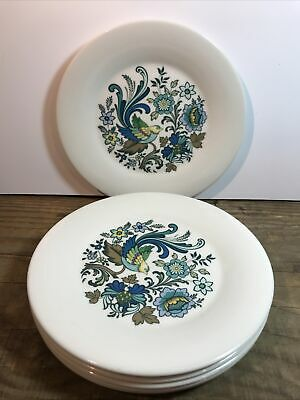 Royal Doulton Everglades Salad Plates Set Of 6 22.5cm • 6£