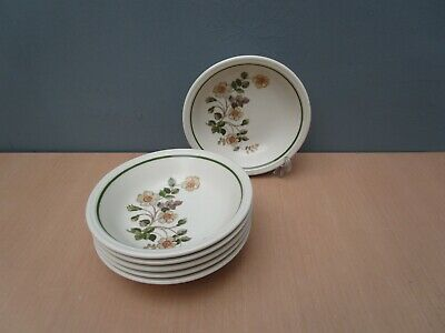6 Marks And Spencer  Autumn Leaves  6 3/4 Inch Bowls • 16£