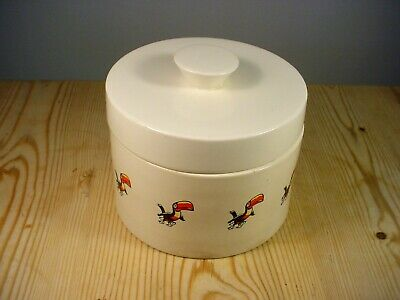 Carlton Ware Guinness Toucans Lidded Pot • 14.99£