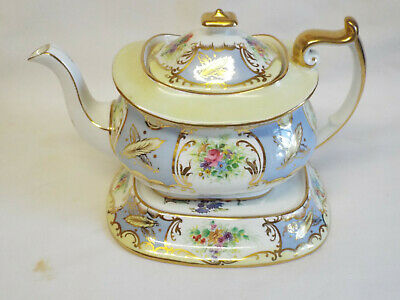 Antique Paragon Star China Teapot And Stand In 6121 Pattern. • 41£