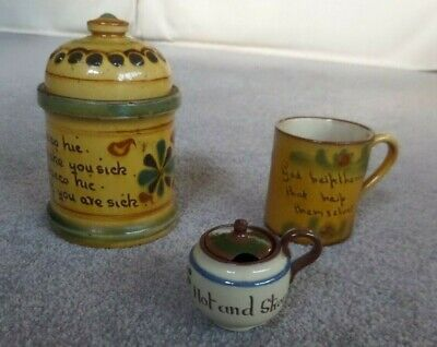Collectable Group Of Devon/motto Ware • 15£