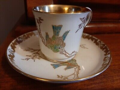 Vintage TUSCAN CHINA Made In England Cup & Saucer • 18£