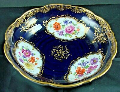 LOVELY MEISSEN HAND PAINTED BOWL - C1831 ONWARDS • 21£