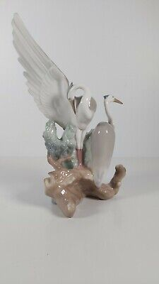 Nao By Lladro Figurine   Herons Resting   Model No.0045, Appr.25cm High  • 54£