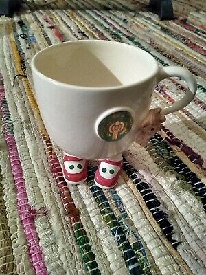 Carlton Ware Walking Cup International Year Of The Child 1979 Red Shoe Green Dot • 11.69£