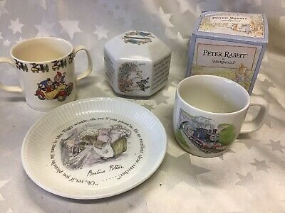 Wedgewood Peter Rabbit, Thomas Tank, Noddy Cup. Beatrix Potter. Mrs Tiggy Winkle • 15£