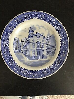 Spode Shreve Crump And Low Old State House Plate • 2.50£