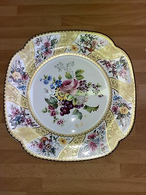 Spode - The Cabinet Collection - Fine Bone China Plate - Willoughby Design. • 10£