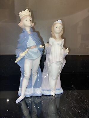 Llladro Medieval Majesty King And Queen Figurines Gloss Finish • 70£