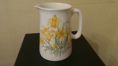 Reflections Daffodil Jug 100mm High Hand Decorated In Wales   • 4.99£