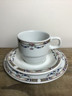 Grindley Pottery 'Carlton' Tea Trio Cup Saucer & Sideplate • 12£