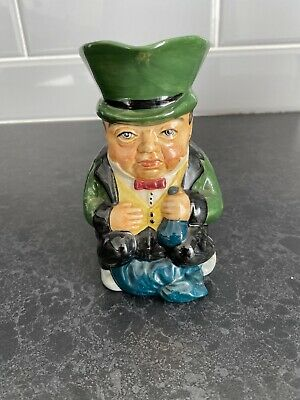 Richman Roy Kirkham Vintage Toby Character Jug 5 /13cm Tall Excellent Cond #796 • 2£